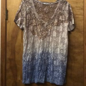 Maurice's size 1 , lace shirt.